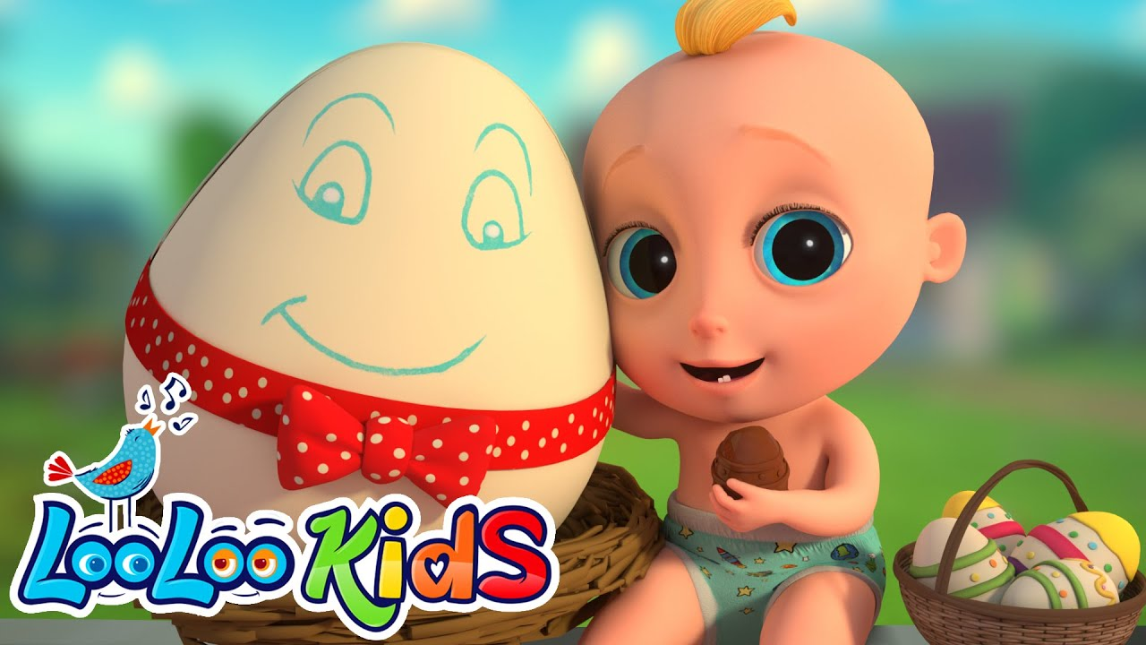 Humpty Dumpty - LooLoo KIDS Nursery Rhymes and Children`s Songs
