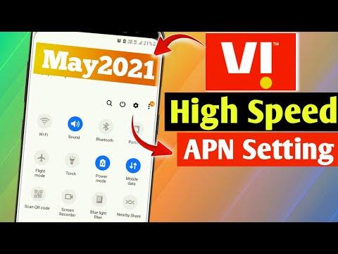 Vi APN Settings 2021   Vodafone APN  Setting   Vi Network Problem   How To Increase Vi 4G Speed
