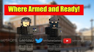 [Roblox New City of London, United Kingdom CTFSO] Knife Risks Uk Policing The British way!
