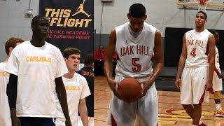 Thon Maker vs. Caleb & Cody Martin - Oak Hill vs. Carlisle 12/4/13 Recap