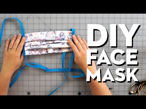 how-to-make-diy-face-masks-to-donate-to-healthcare-workers-|-good-housekeeping