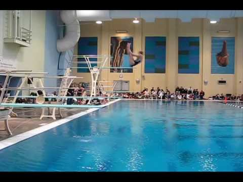 2012 Colorado High School Dive Championship Alexa Beckwith