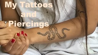 My tattoos and Piercings | HITOMI
