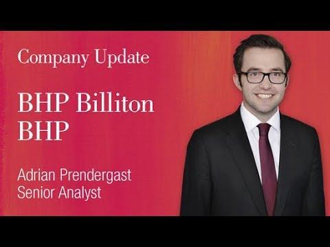 BHP Billiton (ASX:BHP): Adrian Prendergast, Senior Analyst