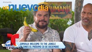 Kevin Hart, The Rock y Jack Black ¡hablan en español! | Un Nuevo Día | Telemundo