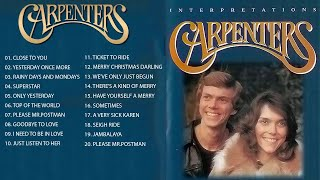 Best Songs of The Carpenters - The Carpenters Greatest Hits Full Album 2018