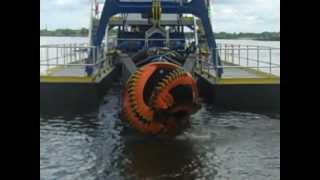Cutter Head Hydraulic Dredger For Dredging Project