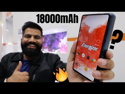 This Phone is CRAZY - 18000mAh Battery - PopUp Selfie - Helio P70 🔥🔥🔥
