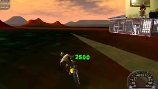 Live Gameplay Of Motocross Madness 2 Playing Online