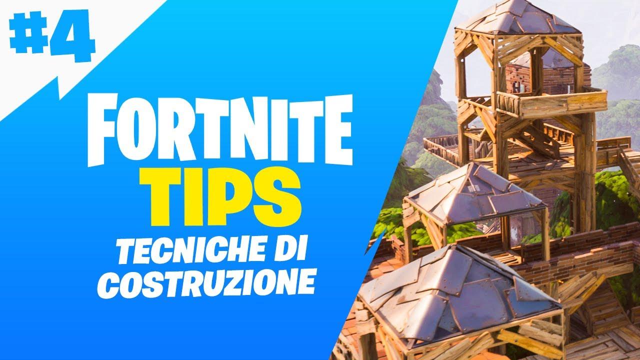 TECNICHE DI COSTRUZIONE - Fortnite Tips - Episodio 4