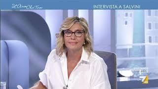 Myrta Merlino a Matteo Salvini: