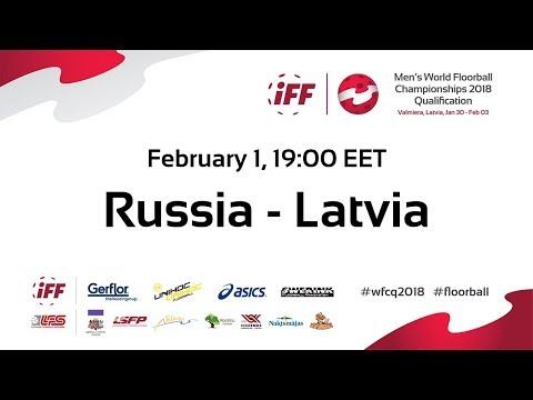 Men's WFCQ 2018 EUR3 RUS v LAT