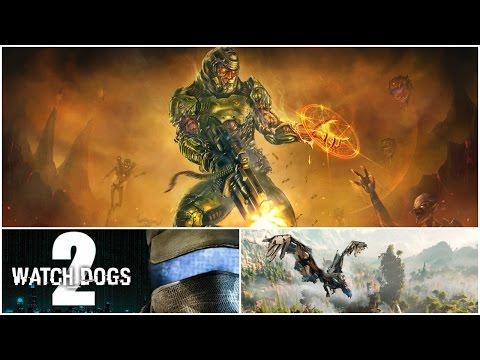 видео: Игровые новости недели - doom 4, watch dogs 2, horizon: zero dawn