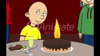 happy birthday to Caillou 5th birthday day