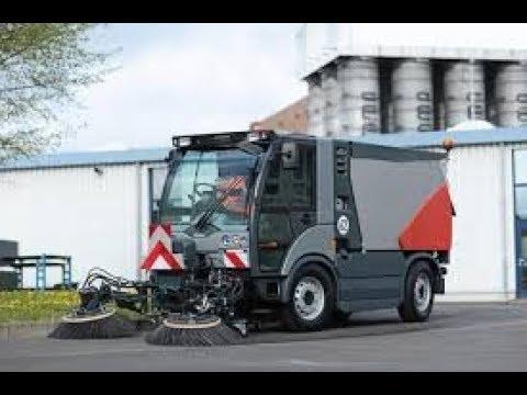 Hako Citymaster 2200 Outdoor Floor Sweeper Cleaning Machine