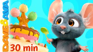 😍 The Ice Cream Song and More Nursery Rhymes | Baby Songs by Dave and Ava 😍
