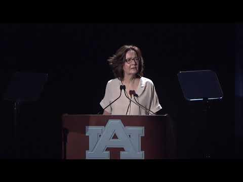 Central Intelligence Agency Director Gina Haspel visits Auburn University