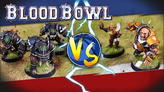 Rapport de bataille BLOOD BOWL saison 2 : Bogenhafen Barons VS Thunder Valley Greenskins en FR