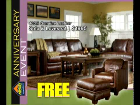Ashley Home Furniture Anniversary Event Ad Youtube