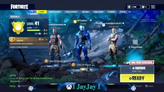 Fortnite Battle Royal - Follow me on Facebook @IJayJayLive for Giveaways