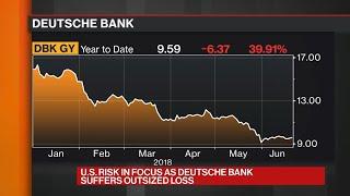 U.S. Risk in Focus as Deutsche Bank Suffers Outsized Loss