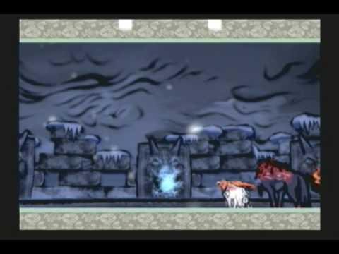 Okami (PS2) Boss #13 - Lechku and Nechku