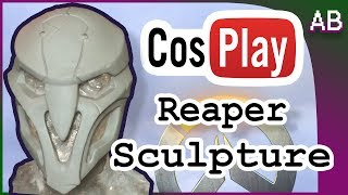 Reaper Cosplay Mask Tutorial - Overwatch Costume Sculpt thumbnail