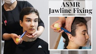 ASMR I got my JAWLINE fixed in Japan, Soft spoken