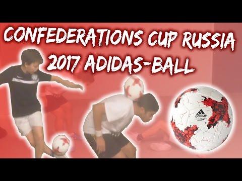 AMAZING Confederations Cup Russia 2017 Adidas-ball Test (Ronaldo/Messi/Neymar Skills) -skillerkids