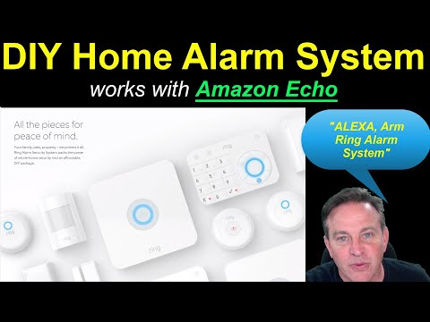 """🔴Home Alarm DIY KIT from RING - Works with """"ALEXA"""", Amazon Echo"""