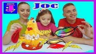 JOCUL Gaina si Penele Cine Mananca Omleta Joc pentru copii for Kids