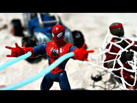 #ЧеловекПаук и Капитан Америка: #Супергерои целый день в бассейне! Игры для мальчиков #Марвел