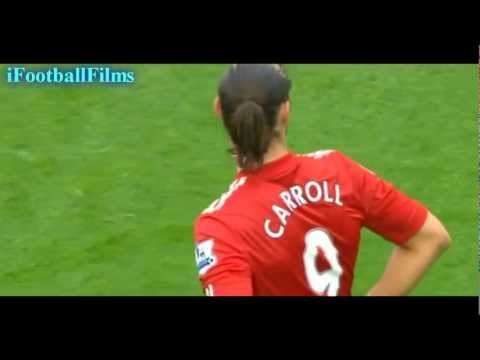 Andy Carroll vs Wolverhampton Wanderers (H) 2011/12 HD