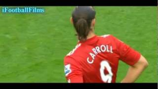 Andy Carroll vs Wolverhampton Wanderers (H) 2011/12 HD