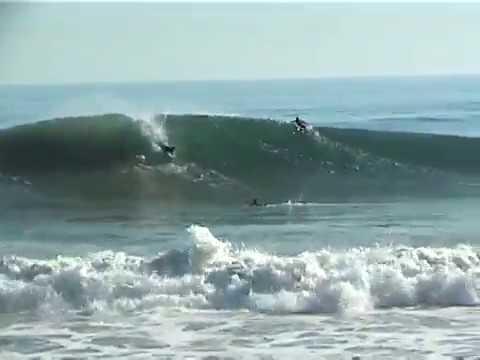 A nice barrel at Point Mugu in Oxnard | Bodyboarding Clips