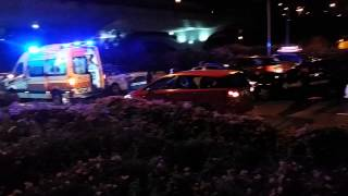 Scdf - Cab Collision At Airport Boulevard  Part 1