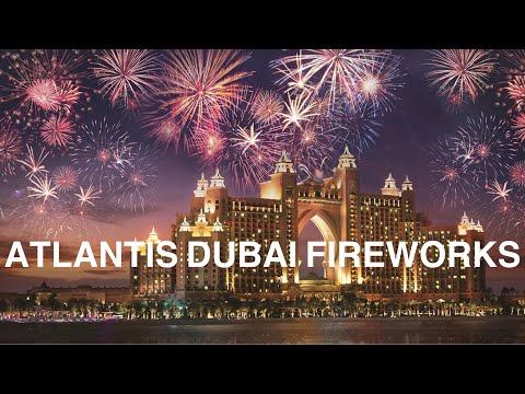 DUBAI ATLANTIS NEW YEAR FIREWORKS|ATLANTIS DUBAI 2020
