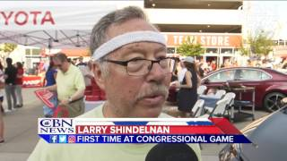 Congressional Baseball Game Brings Healing to Fans and Players