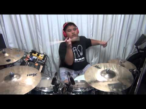 Dance In Freedom - Victory Worship (drum cover by Anjelo Gana 12yrs old)