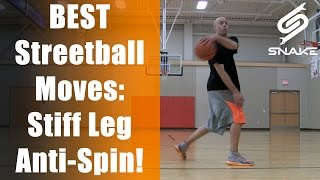 best streetball crossovers handles stiff leg anti spin top 10 ankle breaker how to tutorial