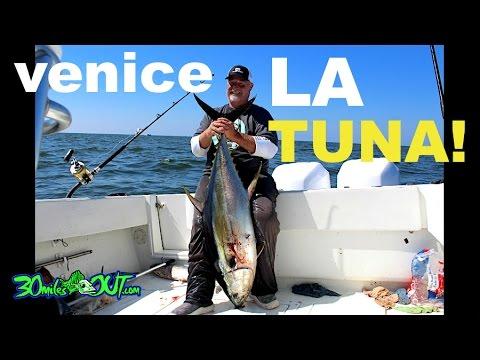 OFFSHORE FISHING - TUNA In Venice Louisiana