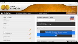 Como activar mi cuenta en ZONA NETWORK Republica Dominicana