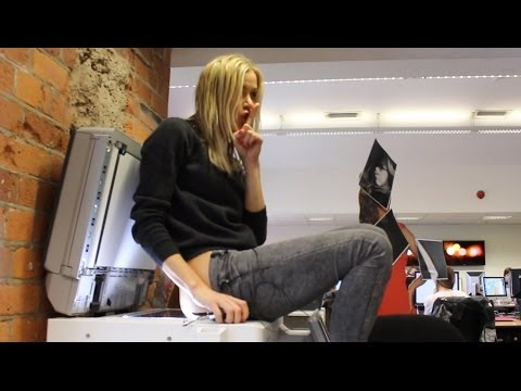 Kate Lawler | Fastest Time Photocopying 5 Body Parts | World Record Wednesday
