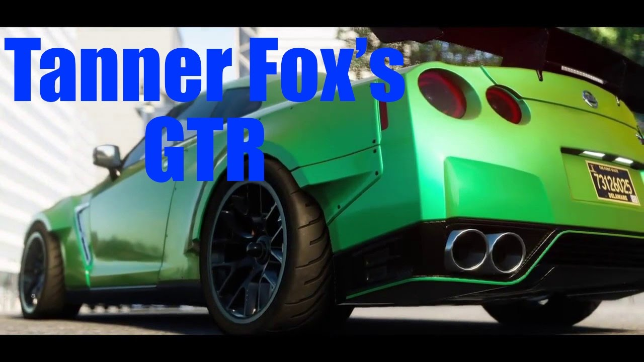The crew tanner fox nissan gtr r35 youtube - Tanner fox gtr pictures ...