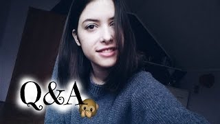 Q&A // Celebrity crush, things I'm bad at...