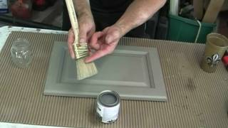 Glazing technics for kitchen cabinets!