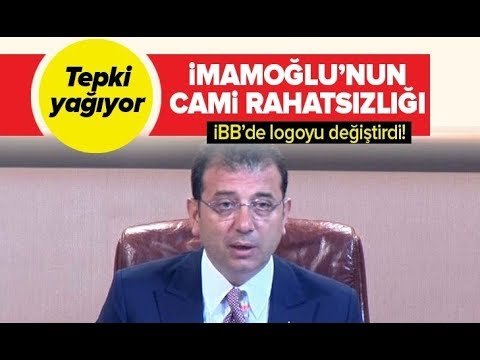Ekrem İmamoğlu'nun cami rahatsızlığı! İBB TV'nin logosunu değiştirdi