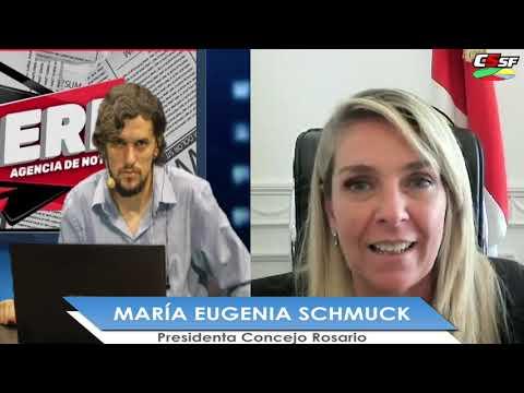 María Eugenia Schmuck: Construir la nueva normalidad entre todas las fuerzas