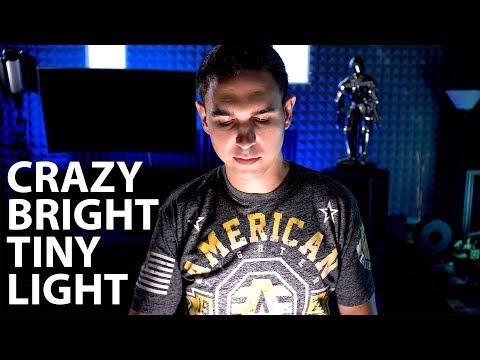 CRAZY BRIGHT TINY VIDEO LIGHT