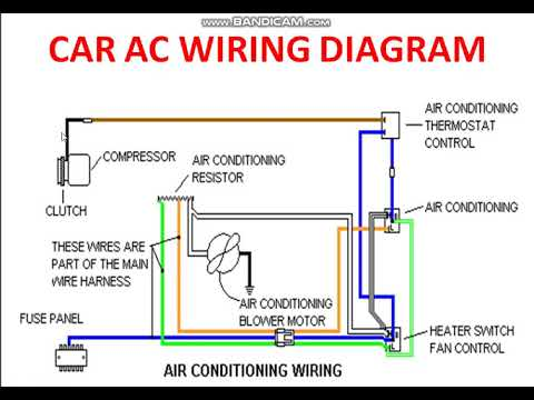 car a c clutch wiring diagram  kenworth w900 fuse box for